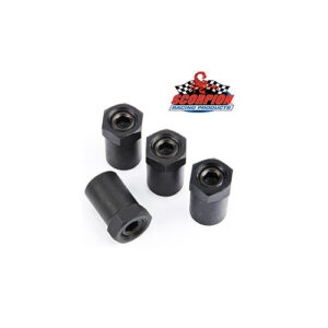 "Scorpion Racing Products 3/8"" Short Polylocks"